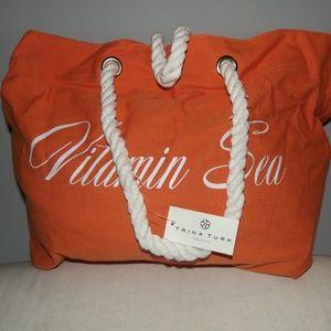 TRINA TURK Beach Tote  Bag, Large